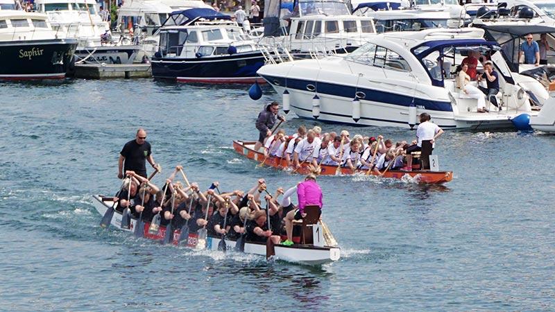 Drachenboot Sprint Cup – Wettbewerb zur Müritz Sail
