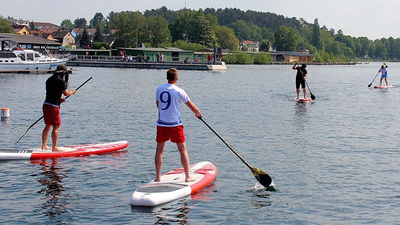 SUP Teamrace – Wettbewerb zur Müritz Sail
